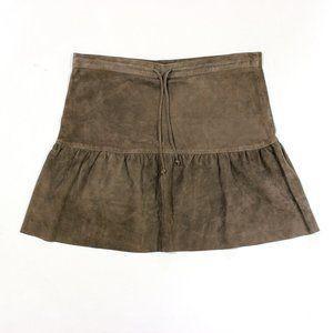 Allsaints Haslam Suede Skirt